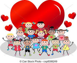 happy valentines day clip art for kids. Delighful Kids Happy Valentine  Csp8306249 With Happy Valentines Day Clip Art For Kids A