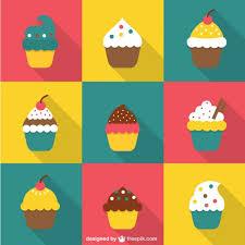 17 Cupcake Vector Psd Images Cupcake Vector Free Download Free