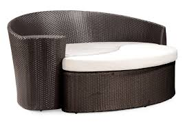 modern ottomans and benches white leather tufted  aio