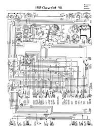 chevy wiring diagrams 1959 corvette wiring · 1959 car 8 cylinder wiring
