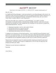 Product Marketing Manager Cover Letter Sample Cover Letter For Sales