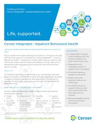 Cerner Charting Behavioral Health Cerner