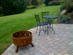 sojoe fire pit popular cover outdoor goods round vinyl pertaining to 9