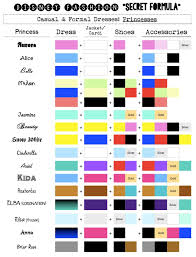 Best 25 Disney Princess Colors Ideas On Pinterest Disney