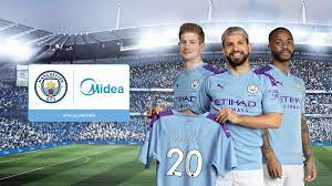 Manchester City gibt neue globale Partnerschaft mit dem  Haushaltsgerätegiganten Midea bekannt