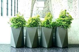 round plastic planters extra white rectangular large for outside photo 3 of 8 garden pots and outdoor plant ex