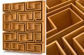 artistic furniture. woodloops maze bookcase artistic furniture l