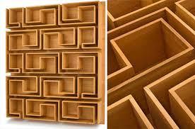 amazing furniture designs. woodloops maze bookcase amazing furniture designs
