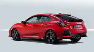 autocar new car release dates2017 Honda Civic hatchback details and release date