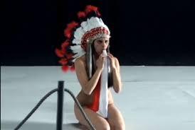 Nude Artist Wears Headdress Producer Apologizes Creates Native.