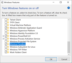 How To Enable Windows Sandbox On Windows 10