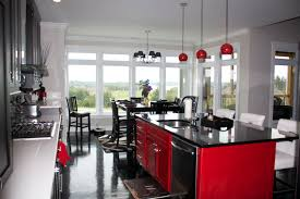 black and red kitchen designs. Kitchen Black And Red Ideas With Designs