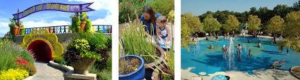 the wow children s garden offers opportunities for learning and exploration for family members of all ages trek across the globe in our world themed splash