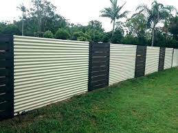 Wood and metal privacy fence Minimalist Metal Corrugated Metal Fence Panels Cost Exotic Co Stylish Regarding Privacy And Wood Meta Sonjasapps Corrugated Metal Privacy Fence Qualitymatters
