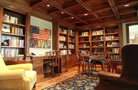 home office library. Contemporary Library Home Office Library Den Design For E