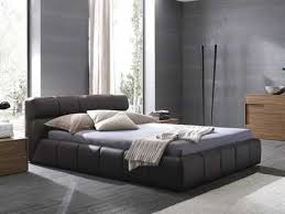 leather king bed. Unique King Rossetto Cloud Brown King Size Platform Bed And Leather