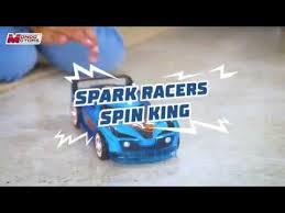 <b>HOT WHEELS</b> Spark <b>Racers</b> - <b>SPIN</b> KING 51198 - YouTube