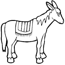 Small Picture donkey coloring pages 11jpg nativity animals Pinterest Donkey
