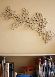 toilet paper roll wall art 7 on homemade wall decoration ideas
