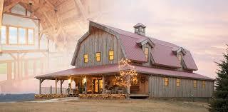 post beam modular homes wood horse barn garages loft living sand creek 2