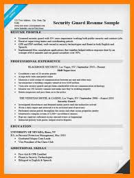 13 Security Guard Resume By Nina Designs