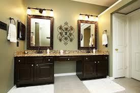 image of bathroom vanity light fixtures oil rubbed bronze