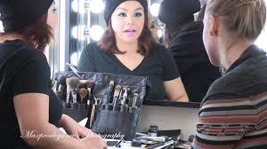 quick behind the scenes during cl at my beauty mark makeup academy