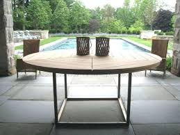 fresh round patio dining table or impressive round outdoor dining table easy pieces round wood outdoor