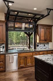 glass garage doors kitchen. Amazing Idea For A Kitchen Window, Sliding Glass Garage Style Door Window\u2026 Doors