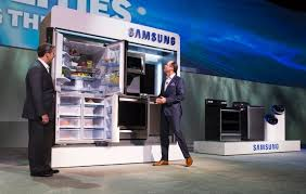 samsung tv refrigerator. smart refrigerator ces 2015 samsung tv o