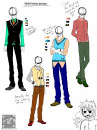 Clothing Design Ideas anime male body clothes google search