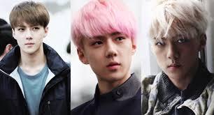 Sehun New Hair Color 2015 Best