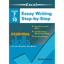 9781740203128 excel essay writing step by step years 7 10 unit description