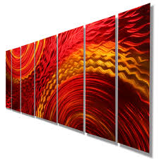 home decor alluring abstract metal wall art with harvest moods xl within latest abstract metal