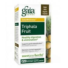 Gaia Herbs, <b>Трифала</b> фрукты, <b>60</b> вегетарианских капсул ...