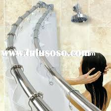 curved double shower rods stylish double shower curtain beautiful matters from ceiling extraordinary bathroom double shower