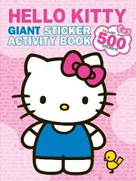 Printable hello kitty coloring pages are suitable for kids of all ages. Amazon Com Bendon Hello Kitty Giant Sticker Activity Book Toys Games