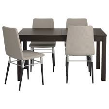 ikea preben bjursta table and 4 chairs the clear lacquered surface is easy to