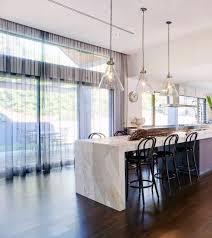 Apartment Kitchen Renovation Modern Kitchen Stone Counter Stone Bench Top High Ceilings