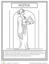 Small Picture Greek Mythology Coloring Pages Gods and Goddesses Educationcom