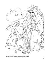 Virgen De Guadalupe Coloring Pages Page New Our Lady Of Pdf