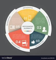Modern Pie Chart Modern Infographic Elements Pie Chart