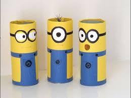 How to Make Adorable DIY Minions Craft Ideas - Cardboard Tube Minions -  Tutorial . - YouTube