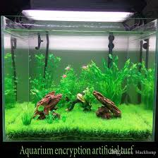artificial lawn turf grass plants for aquarium decorations micro small world landscaping decoration diy accessories craft fish tank with 2 96 piece
