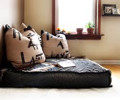 oversized floor cushions. Simple Cushions Custom Organic Buckwheat Oversized Floor Cushion Eclecticlivingroom With Cushions E