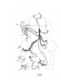 Wiring diagram for a craftsman riding mower
