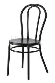 paris bentwood chair steel reproduction matt black black bentwood chairs