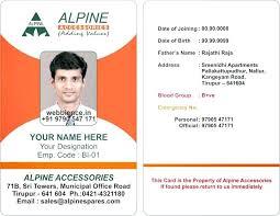 School Id Template School Id Card Template Word Puntogov Co