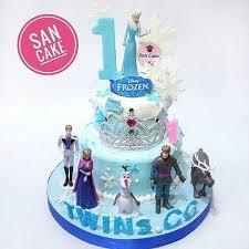 Jual Frozen Birthday Cakes Dki Jakarta San Cake Jakarta Tokopedia