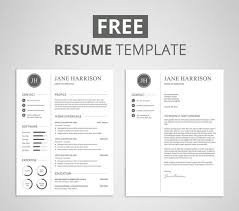 Free Modern Resume Templates Google Docs Free Modern Resume Template That Comes With Matching Cover Letter